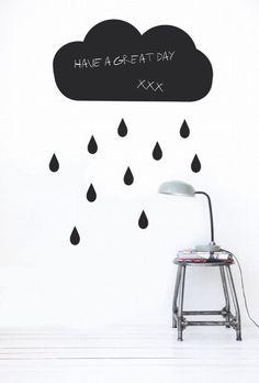 J'habille mon mur de… stickers sur lesquels je peux écrire