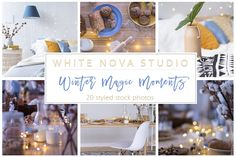 Winter Product Mockups on Creative Market. Digital design goods for personal or commercial projects. Graphic design elements and resources.
