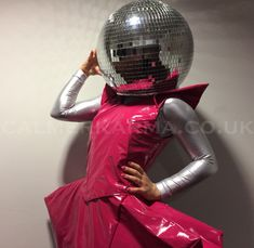 Disco Studio 54 walkabout dance acts to hire in bright pink, lime green and dark purple PVC the perfect act for outrageous disco parties and Studio 54 themed events.  Available to hire worldwide including: London, Manchester, Birmingham, Brighton, Sussex, Wilmslow and Wales.