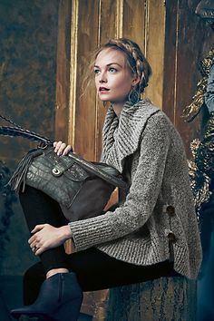 Cabled Boucle #Pullover #Anthropologie