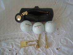 Golfers Tool Tote Divot Repair Tees Brookstone Balls  | Sporting Goods, Golf, Golf Accessories | eBay!