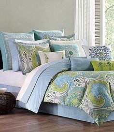 Echo Sardinia Bedding Collection #Dillards i love this so much!!!!  why must it be so expensive!?!?!?