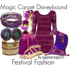 Magic Carpet Disneybound