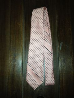 Pink Designer Lanvin Neck Tie by DIYstylist on Etsy, $14.99