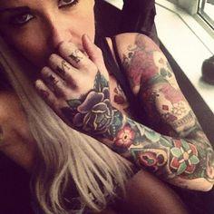 knuckle tattoo | Tumblr