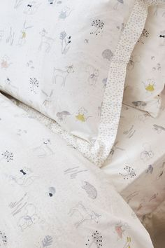 Our playtime favorite hit a growth spurt! Made with our softest brushed cotton, little ones will love to crawl into their 'big kid' bed. This set is perfect for your growing little one. Beds For Kids Girls, Kid Beds, Girl Room, Girls Bedroom, Kid Bedrooms, Childs Bedroom, Child Room, Kids Sheets, Kids Sheet Sets