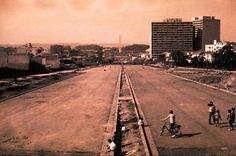 Avenida 23 de maio em 1968