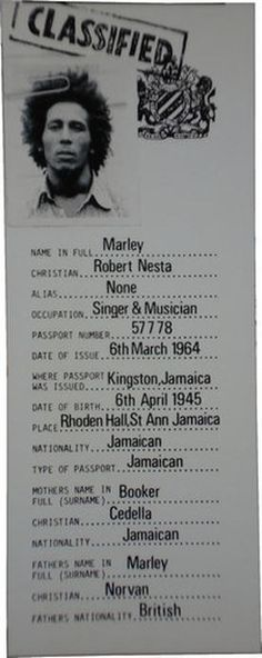 **Bob Marley** 1973. More fantastic pictures, music and videos of *Robert Nesta Marley* on: https://de.pinterest.com/ReggaeHeart/