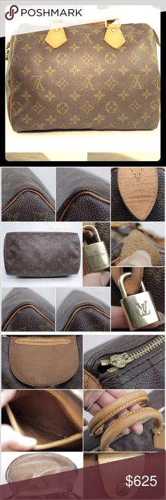 LV 👑 100% Authentic LV Speedy 25 👑 More info coming soon...Used but great bag!!!!!! 💕💞💞 Louis Vuitton Bags