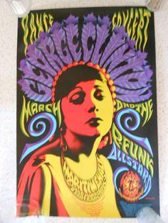 George Clinton / P-Funk Allstars 1996 Maritime Hall Concert Poster - Family Dog Rock Posters, Band Posters, Concert Posters, Retro Posters, Film Posters, Psychedelic Art, Revolutionary Artists, Wes Wilson, Pop Art