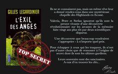 Chronique sur l'Exil des anges de Gilles Legardinier !