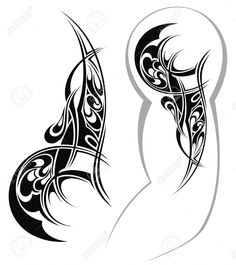 Tribal Arm Tattoos Designs Tattoo Design Royalty Free Cliparts Vectors And Stock