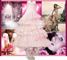 """""""Blush"""" by thepeachblossom on Polyvore"""