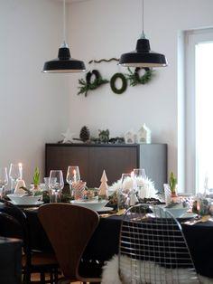 Weihnachtlicher Geburtstagstisch | SoLebIch.de Foto: Die.wohnsinnige  #interior #ideas #
