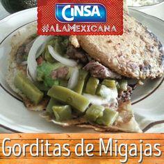 #Cinsa #CinsaALaMexicana #Recetas #Mexicanas #RecetasMexicanas #México #Comida #ComidaMexicana #peltre #MarcasMexicanas #GorditasDeMigajas #Querétaro