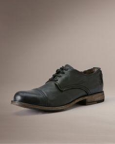 9131e0c22145 Johnny Oxford - Men Shoes Oxfords - The Frye Company Black Leather Belt