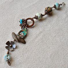 handmade beaded bracelet rustic beaded bracelet rustic by songbead, £42.00