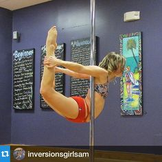 What a gorgeous yogini! Repost @inversionsgirlsam ・・・