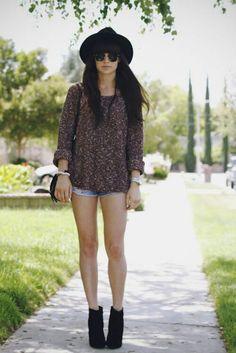 Indie fashion summer fashion spring [Pinterest: @YelaGarcia]