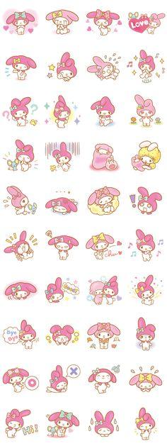 画像 - My Melody (Lovely Days ver.) by Sanrio - Line.me