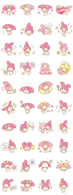 画像 - My Melody (Lovely Days ver.) by Sanrio - Line.me