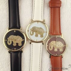 Cheap watch brand, Buy Quality watch female directly from China watch watch Suppliers: Female Watches Brands Leather Band Analog Quartz Vogue Wrist Watches ,Aug 17 Women's Dress Watches, Big Watches, Casual Watches, Luxury Watches, Wrist Watches, Cute Elephant, Watch Sale, Watch Brands, Printing
