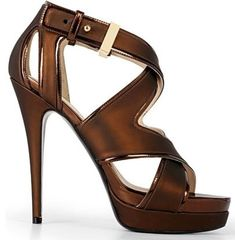 f3e02bec009 Criss cross bandage sandal in cognac brown.♥ ♥ ♥ Hot Shoes
