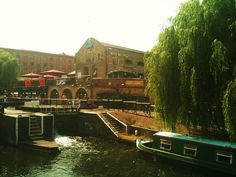 Arrived at Camden market on a canal boat was so sweet (LW34-1)