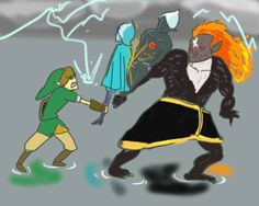 The Final battle, through my sick and twisted eyes. I really-REALLY DIGGED Ghirahim's buff and swo. Skyward Sword: The Final Battle Zelda Wii, Zelda Skyward, Skyward Sword, Link Zelda, Legend Of Zelda Memes, Legend Of Zelda Breath, Twilight Princess, Princess Zelda, Wind Waker