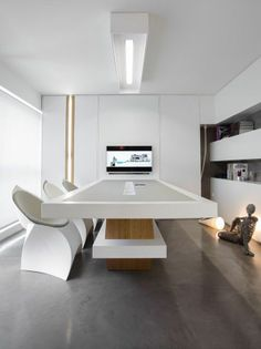 Minimalist Office Design | More Office Designs @ www.pinterest.com/seeyond