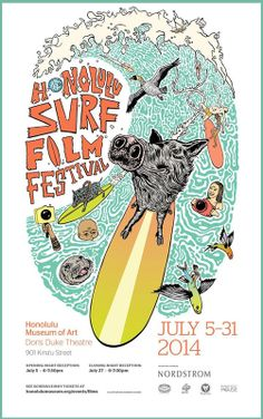 Honolulu, HI Experience the best in new and classic surf films from the four corners of the earth at this celebration of surfing's heritage and its ever-expanding horizons.  Opening night reception 6-7:30… Click flyer for more >>