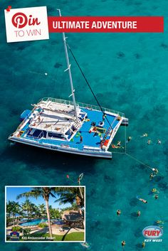 Repin this image and include the tag #FuryFreebie to win a Key West Vacation for 2! Your trip will include this Ultimate Adventure trip plus 5 days/4 nights at the Key West Best Western Key Ambassador Resort. Make sure to repin by 09/30/2015 to be entered!