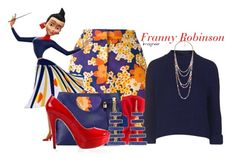 """""""Franny Robinson (Meet the Robinsons)"""" by claucrasoda ❤ liked on Polyvore featuring Carven, Topshop, Forever 21, Pippa Small, Posh Girl and oversizedflorals"""
