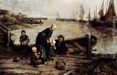 fisherman painting - Google Search