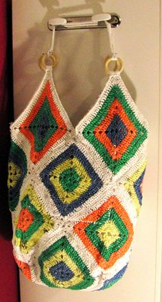 Plarn Granny Bag by Strick Else