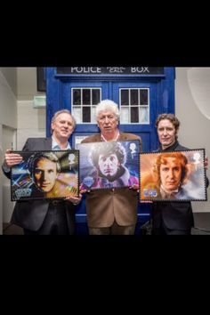 The Doctors and their stamps.