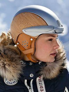 #Bogner bamboo helmet-kind of ridic