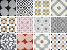 Scandinavian Tile Collection by Wallpaper at Mod The Sims via Sims 4 Updates