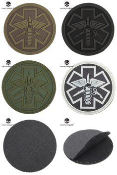 Entertainment Memorabilia Motivated 3d Rubber Patch Medic Cross Rescue Applique Emblem Pvc Badge Medical Tactical Military Morale Patches For Clothing Bags Backpack Rock & Pop