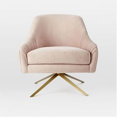 WestElm Roar + Rabbit Swivel Chair