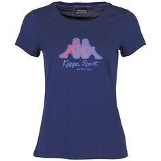 Einen glänzenden Auftritt verspricht dieses Kurzarm-Shirt VERONA von Kappa mit Rundhals-Ausschnitt. Das farblich gestaltete Kappa Motiv auf Brusthöhe verleiht dem VERONA T-Shirt dabei ein elegantes Design, sodass jede Frau selbst beim Sport eine gute Figur macht. Zudem sorgt die Verarbeitung aus 100% Baumwolle für ein angenehmes Gefühl auf der Haut und einen hohen Tragekomfort....