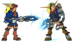 View an image titled 'Jak Concept Art' in our Jak II art gallery featuring official character designs, concept art, and promo pictures. Character Art, Character Design, Jak & Daxter, Paint Line, Shadowrun, Dexter, Storyboard, Art Pictures, Cyberpunk