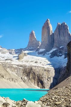 Hiking in the Torres del Paine National Park, Chile. A Step By Step Guide to Trekking One of the Most Awesome Trips in South America. Read now #adventure #travel #southamerica #bucketlist