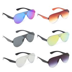 Cheap Sunglasses, Buy Directly from China Suppliers:Integrated Sunglasses Fashion Brand Designer Shades Rimless Pilot Unisex