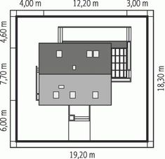 Projekt domu AC Lea (wersja B) CE - DOM - gotowy koszt budowy Attic House, Floor Plans, Architecture, Inspiration, Home Decor, Houses, Projects, Homemade Home Decor, Biblical Inspiration