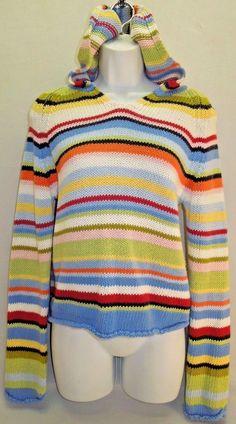 #CarolinaColours #ChunkySweater #HoodedSweater #Stripes