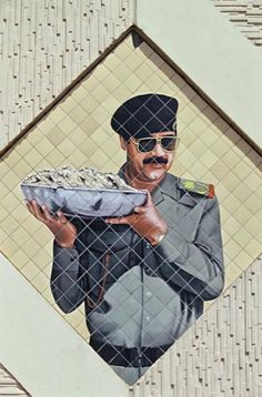 Iraqi Military, Iraqi Army, Beard Logo, Saddam Hussein, Islamic Paintings, World History, History Of The World