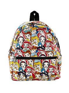 35fa3761ec Loungfly Disney Princesses Collage Mini BackpackLoungfly Disney Princesses  Collage Mini Backpack
