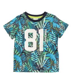 T-shirt with Printed Design | Product Detail | H&M