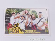 RunningMan Running Man Korean K Drama Postcard Set + Sticker KPOP Post Card